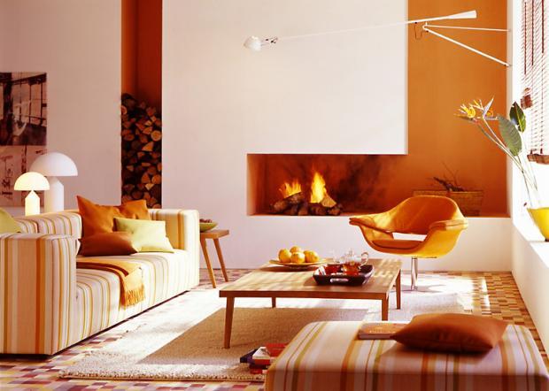 Warme Farben Fürs Wohnzimmer