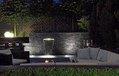 Wasserfall Im Garten Modern