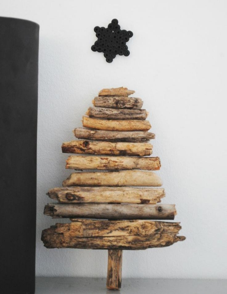 Weihnachtsdeko Ideen Holz Beeindruckend On Beabsichtigt Skandinavische Selber Machen 55 2
