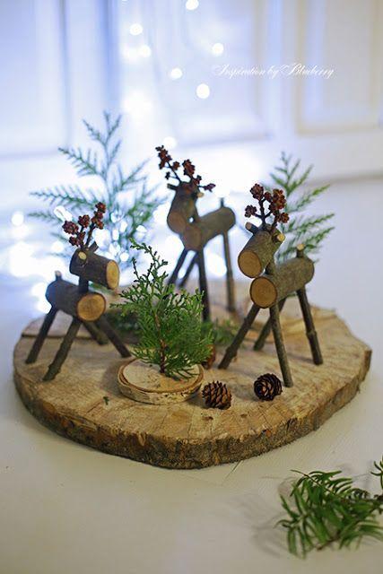 Weihnachtsdeko Ideen Holz Bescheiden On Innerhalb Die Besten 25 Aus Auf Pinterest 5