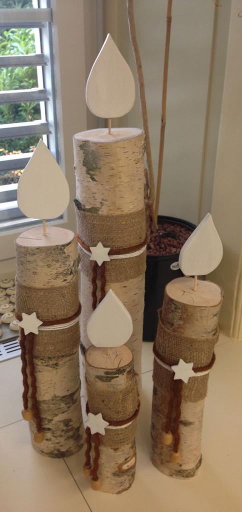 Weihnachtsdeko Ideen Holz