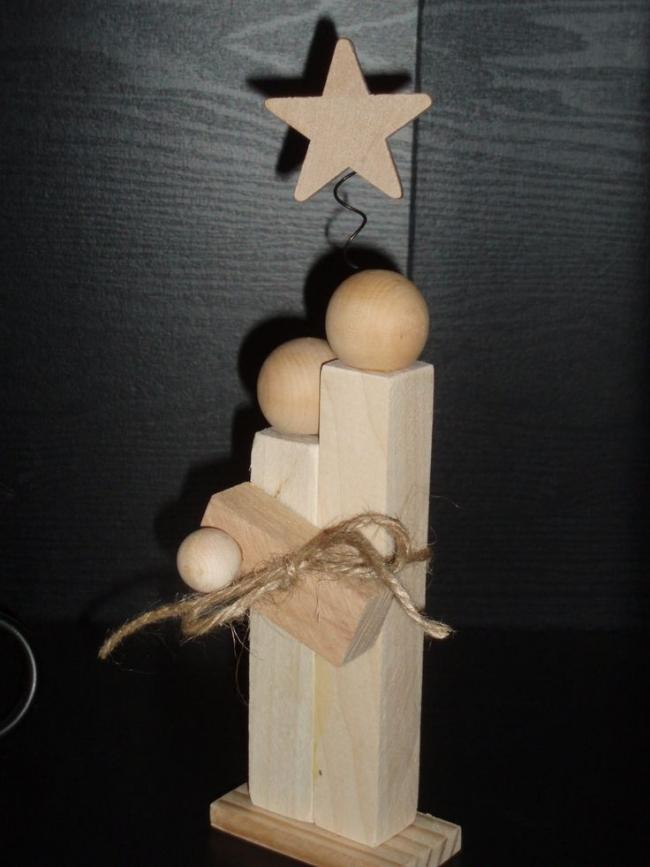 Weihnachtsdeko Ideen Holz Schön On In Bezug Auf Aus Basteln 29 Kreative 9