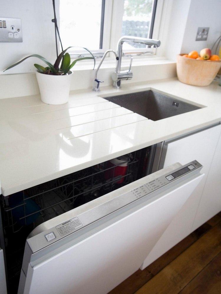 Weiße Küche Arbeitsplatte Großartig On Andere Beabsichtigt Granit Und Fronten Pinteres 2