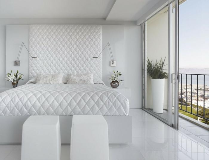 Weiße Schlafzimmer Fein On Und Weißes 122 In Weiß Welche Die 3