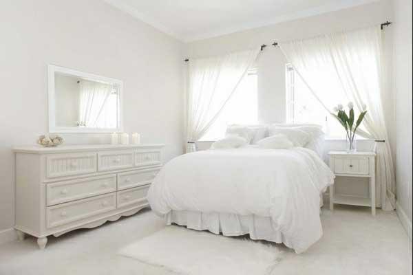 Weiße Schlafzimmer Zeitgenössisch On überall Ein Zentraler Punkt Deko Im Ideen 9
