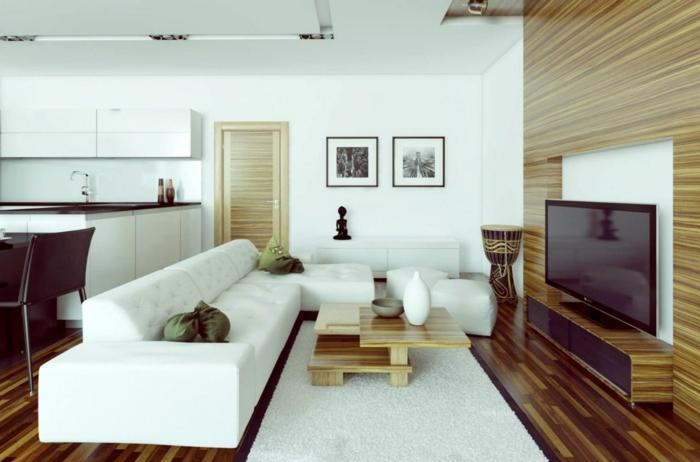 Wie Kann Man Ein Kleines Wohnzimmer Einrichten Nett On Und Für Offener 5