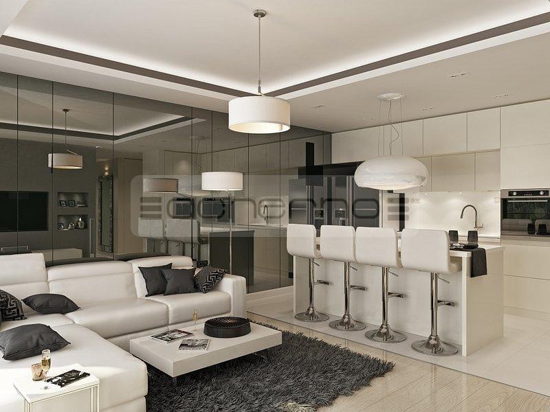 Wohndesign Ideen Charmant On In Bezug Auf Acherno Minimalistische Innenarchitektur Weiß 3
