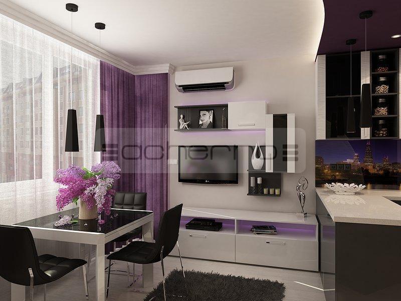 Wohndesign Ideen Perfekt On In Bezug Auf Acherno Violett Und Dunkelgrau 2