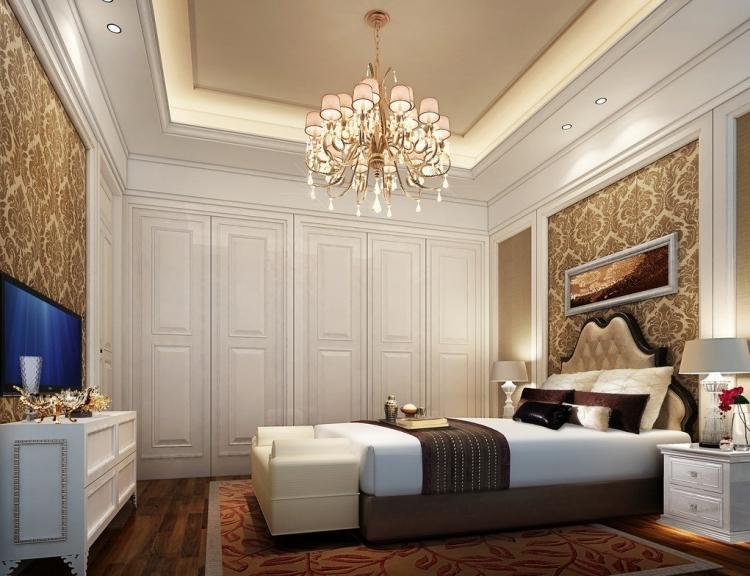 Wohnideen Barock Und Modern Zeitgenössisch On überall Tapeten Im Schlafzimmer 26 Für Akzentwand 7