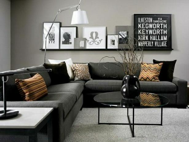 Wohnideen In Grau Glänzend On Ideen Beabsichtigt Wunderbar Modern Schneiden Plus 1