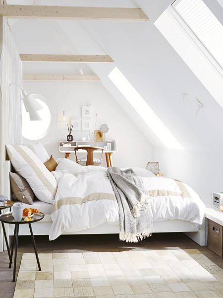 Wohnideen Unterm Dach Fein On Ideen In Schlafzimmer Mit Schrägen Einrichten 5