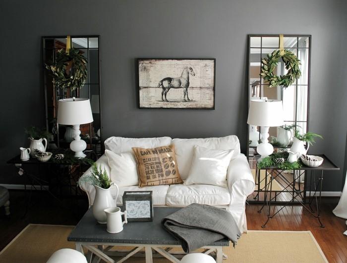 Wohnideen Wohnzimmer Grau Modern On Ideen Und Emejing Gallery House Design Ideas 1