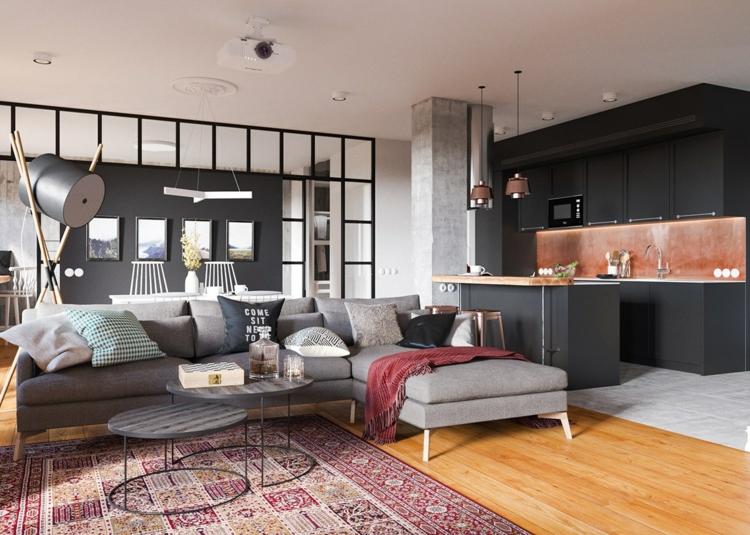 Wohnung Inspiration Modern On Andere Innerhalb Für Die Einrichtung 5 Apartment 1