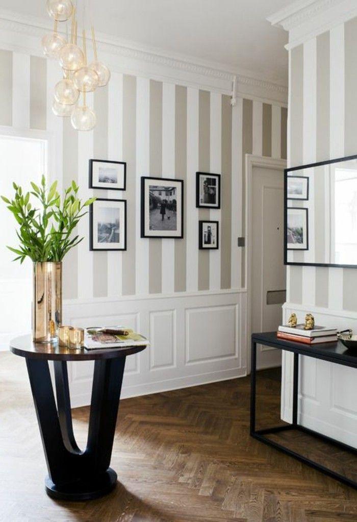 Wohnung Tapeten Ideen Großartig On überall Für Striped Walls Entryway Entscape Com 5