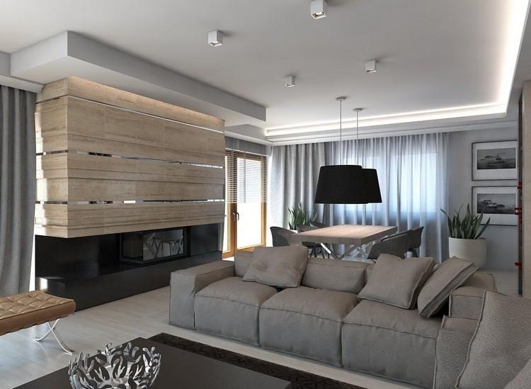 Wohnzimmer Beispiele Beeindruckend On In Wandgestaltung Im 85 Ideen Und 9