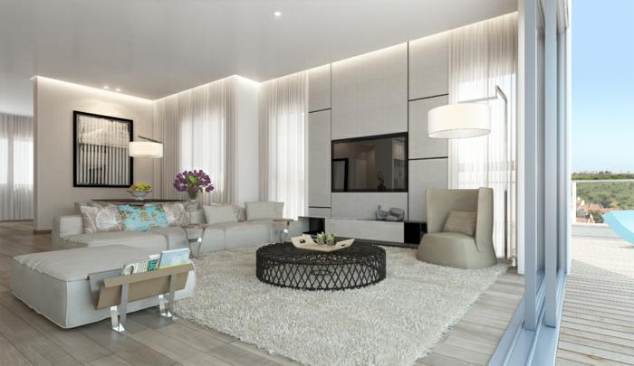 Wohnzimmer Beispiele Perfekt On Und Einrichtung Für Hubsch Einrichten 1001 Welche 2