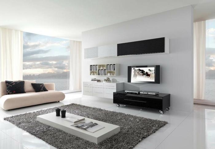 Wohnzimmer Beispiele Wunderbar On überall Einrichtung Für Einrichten Minimalistische 3