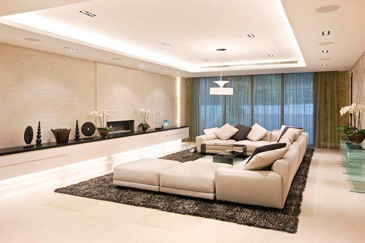 Wohnzimmer Bescheiden On Innerhalb Design Modern 4
