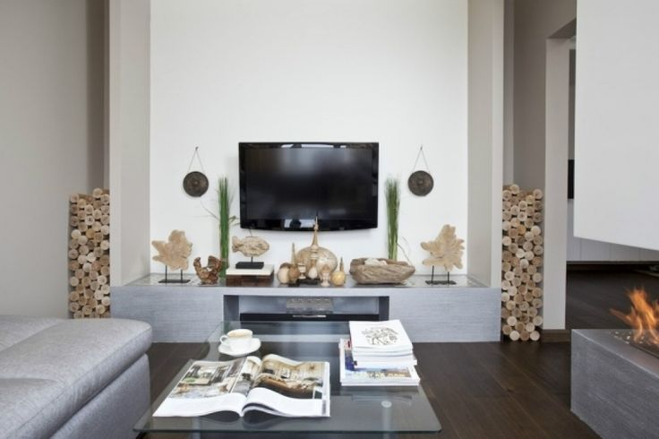 Wohnzimmer Deko Modern Beeindruckend On Beabsichtigt Moderne Kleine Kleines Einrichten 2