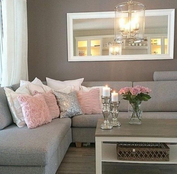 Wohnzimmer Dekorieren Erstaunlich On Mit Deko Für Wand Treibholz Shabby Couchtisch Laterne 7