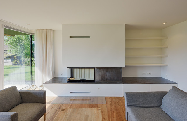 Wohnzimmer Design Modern Mit Kamin Einfach On Berlin Von Möhring 5