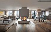 Wohnzimmer Design Modern Mit Kamin