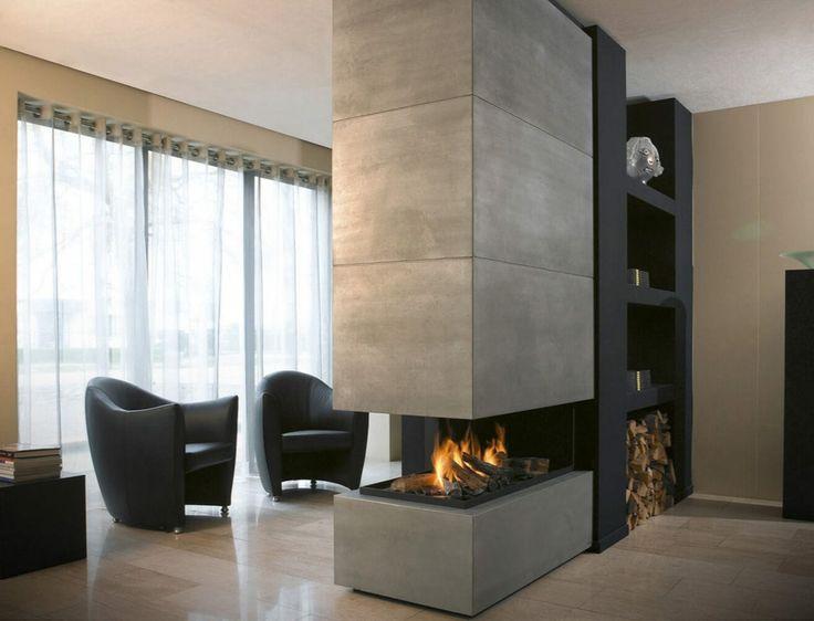 Wohnzimmer Design Modern Mit Kamin Herrlich On überall Die Besten 25 Ideen Auf Pinterest Moderne Kamine 6