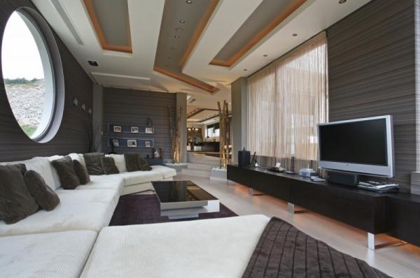 Wohnzimmer Edel Gestalten Stilvoll On In Decken Der Raum Neuem Licht 3