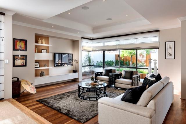 Wohnzimmer Einrichten Farben Frisch On überall Ideen Zum In Neutralen 4