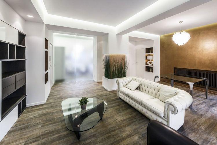 Wohnzimmer Einzigartig On Beabsichtigt Indirekte LED Akzentwand 7