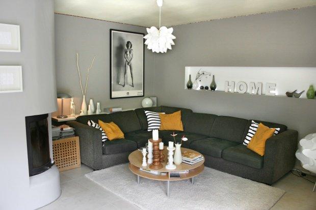 Wohnzimmer Farben Fein On Ideen Beabsichtigt Grau Im 7