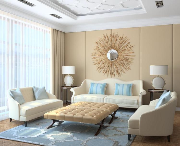 Wohnzimmer Farben Kreativ On Ideen Beabsichtigt 20 Für Moderne Einrichtung In Neutralen 6
