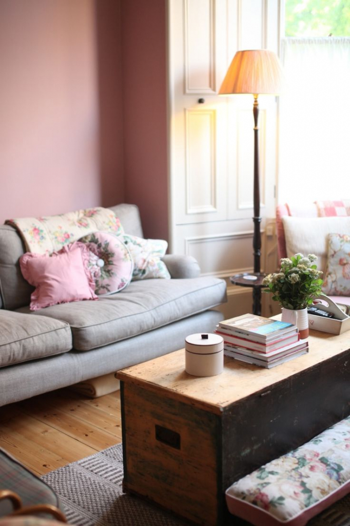 Wohnzimmer Formen Streichen Fein On In Bezug Auf Rosa Full Size Of 9
