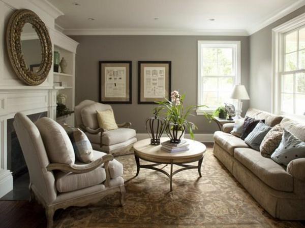 Wohnzimmer Grau Creme Stilvoll On Und Super Elegante Als Vorbilder Moderner Einrichtung 9