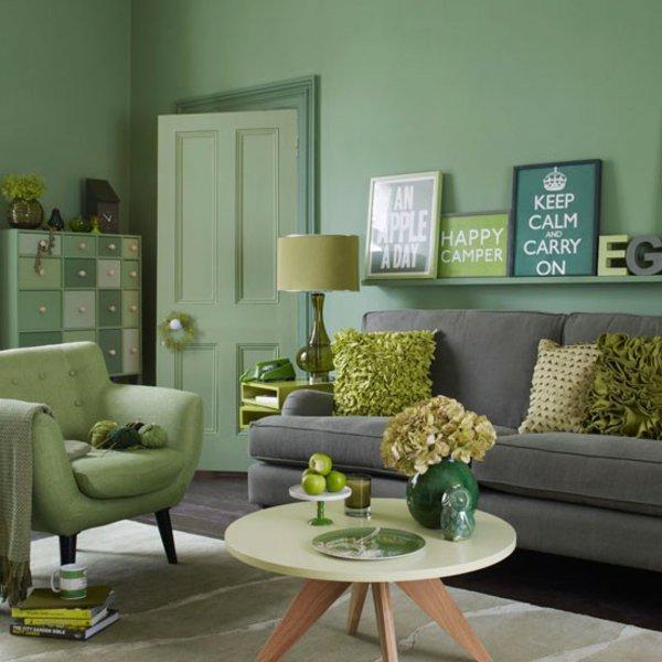 Wohnzimmer Grün Erstaunlich On Ideen Für Verschiedene Grüntöne Kombinieren Schön Pinterest Wohnideen 7