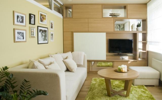 Wohnzimmer Grün Exquisit On Ideen Auf Für Mit Offener Küche 8