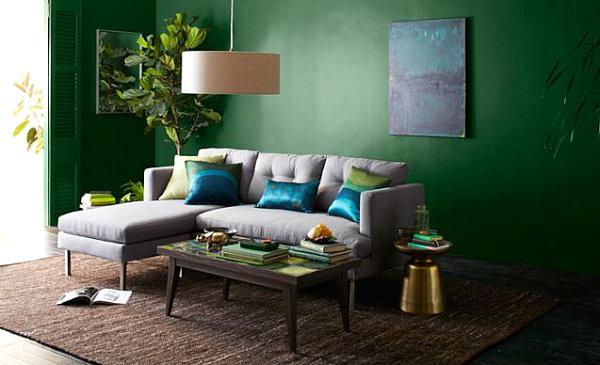 Wohnzimmer Grün Kreativ On Ideen In Einrichten Rheumri Com 5
