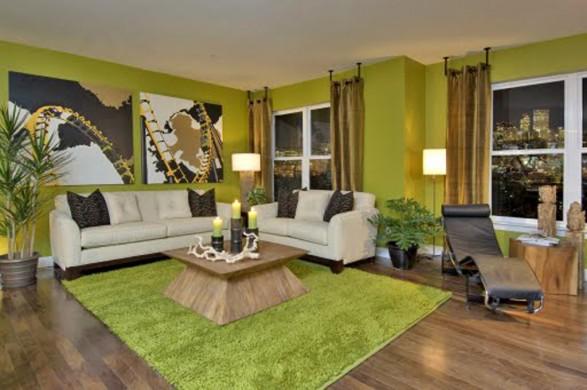 Wohnzimmer Grün Modern On Ideen Auf Grun Govconip Com 2