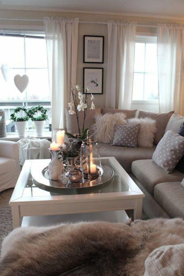 Wohnzimmer Ideen Gemuetlich Fein On Innerhalb Bemerkenswert Mit Gemütlich 7