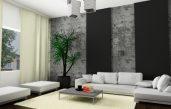 Wohnzimmer Ideen Graue Wand