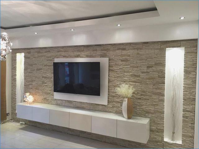 Wohnzimmer Ideen Steinwand Bemerkenswert On Innerhalb Tv Readaloud Co 5