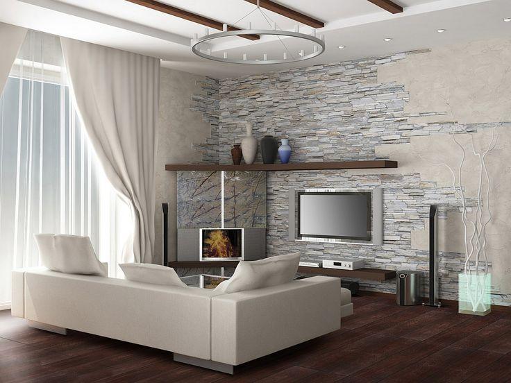 Wohnzimmer Ideen Steinwand Bescheiden On Mit Die Besten 25 Übernehmen 2