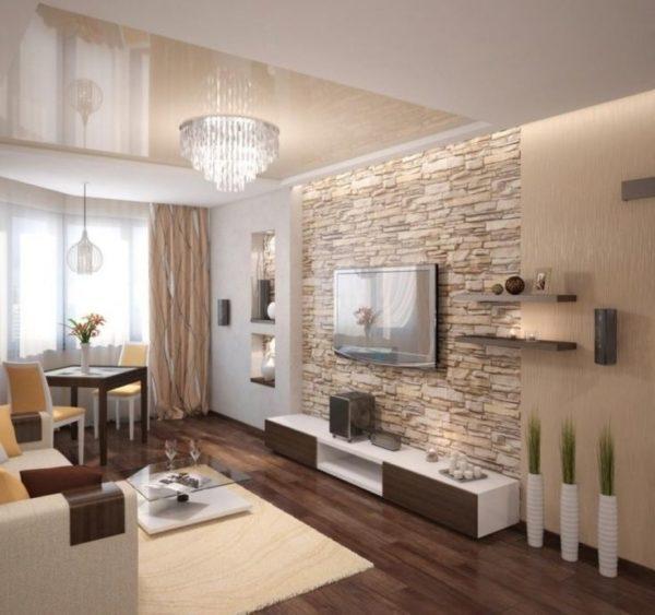 Wohnzimmer Ideen Steinwand Stilvoll On Auf Die Besten 25 Dekoin Com 6