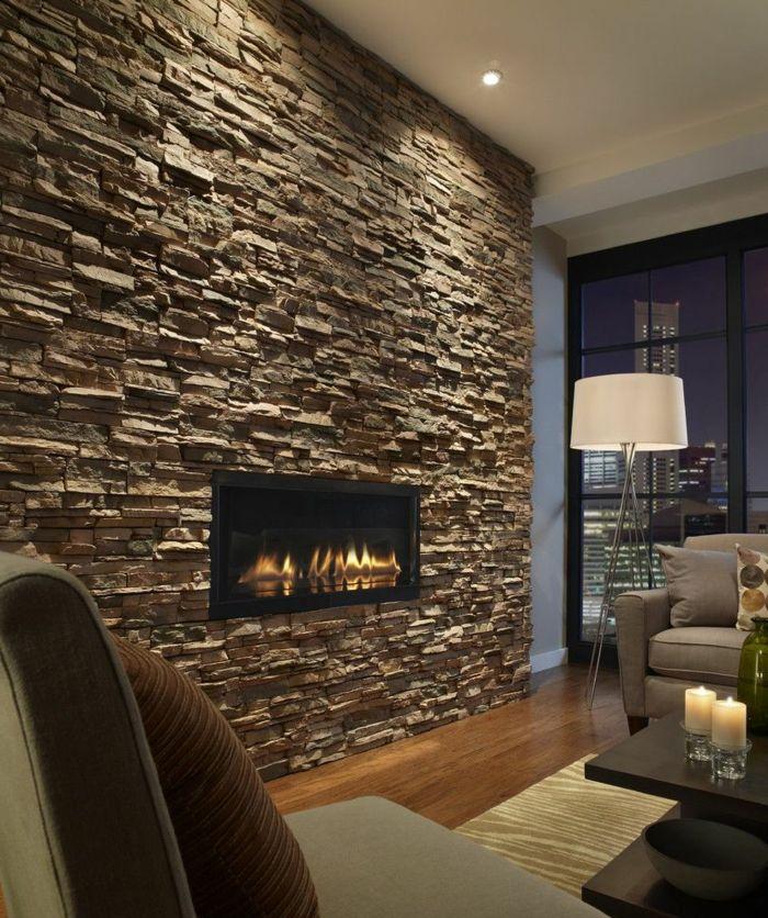 Wohnzimmer Ideen Steinwand Unglaublich On In Bezug Auf Die Besten 25 Pinterest 7