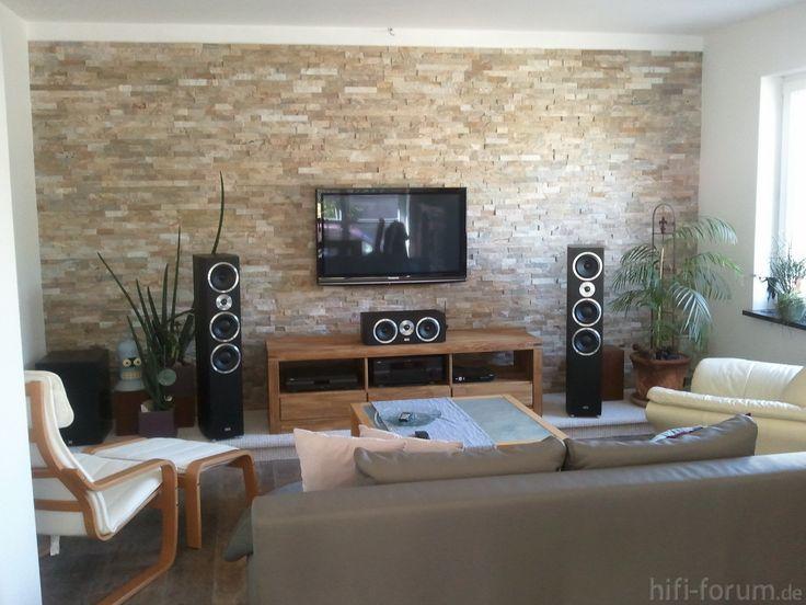Wohnzimmer Ideen Steinwand Wunderbar On Auf Die Besten 25 Pinterest 1