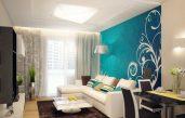 Wohnzimmer Ideen Türkis