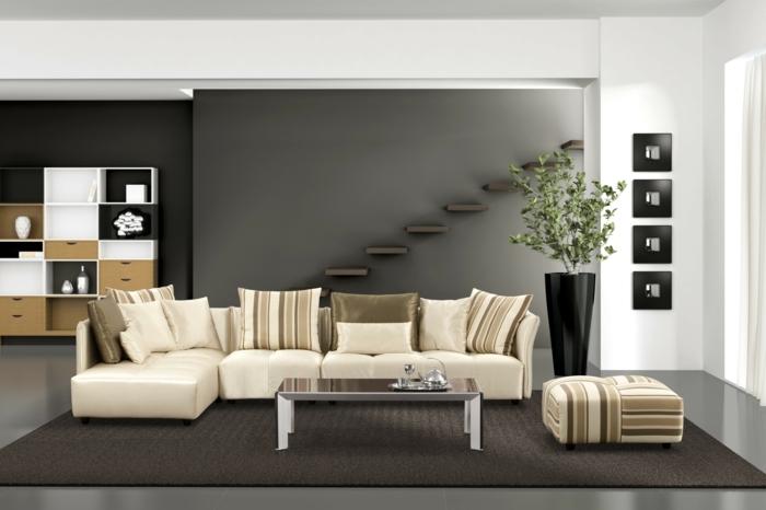 Wohnzimmer Ideen Wand Streichen Ausgezeichnet On In Bezug Auf Beautiful Photos House Design 3
