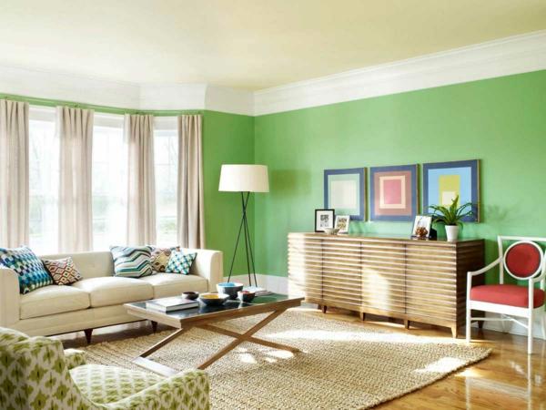 Wohnzimmer Ideen Wand Streichen Beeindruckend On Innerhalb Wohnung Fur Lecker Auf Mit Wände Für Das Wande 8