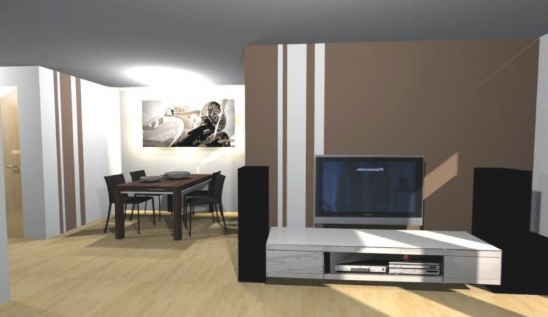 Wohnzimmer Ideen Wand Streichen Bemerkenswert On In 4