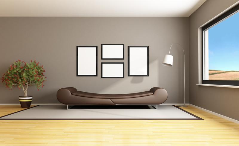 Wohnzimmer Ideen Wand Streichen